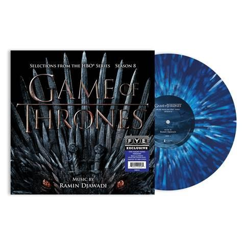 Ramin Djawadi - Game of Thrones - Selections from Season 8 [Exclusive Night King Version - Blue & White Splatter Vinyl]