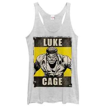 Luke Cage Name Poster Tank Top Juniors T-Shirt