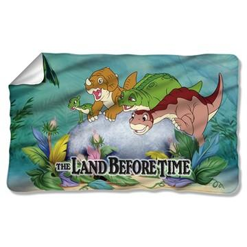 Land Before Time Littlefoot Friends Fleece Blanket