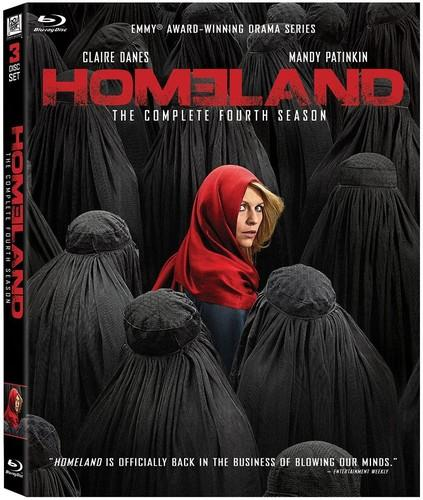 Homeland: The Complete Fourth Season [Blu-ray] [3 Discs]