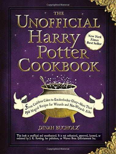 The Unofficial Harry Potter Cookbook: From Cauldron Cakes to Knickerbocker Glory [Hardcover Cookbook]