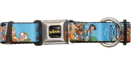 Flintstones Character Group Families Pet Collar
