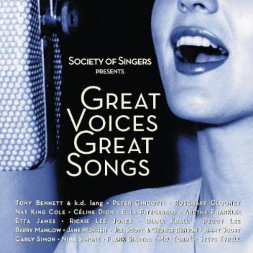 Various Artists - Society of Singers Presents: Great Voices, Great Songs