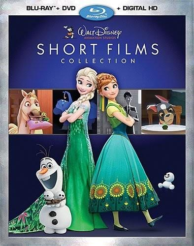 Walt Disney Animation Studios Short Films Collection [Blu-ray/DVD] [Includes Digital Copy]