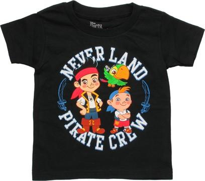 Jake and Never Land Pirates Crew Toddler T-Shirt
