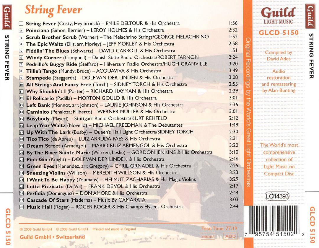 String Fever / Various, , small