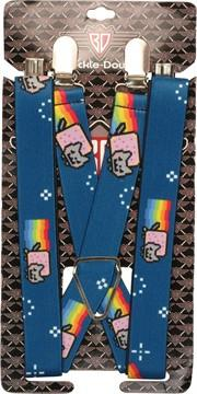 Nyan Cat Stars Suspenders