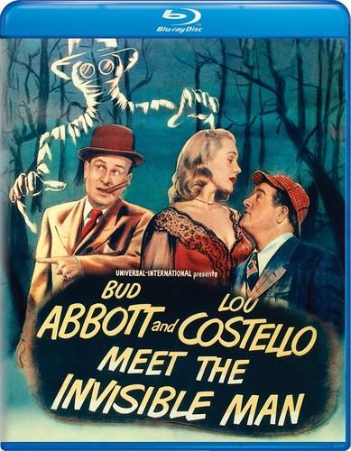 Abbott and Costello Meet the Invisible Man [Blu-ray]