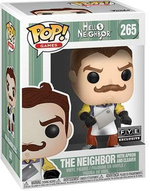 Hello Neighbor The Neighbor (with Apron and Cleaver) Exclusive Funko Pop!