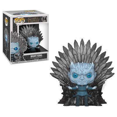 Funko Pop!: Game of Thrones - Night King [on the Iron Throne]