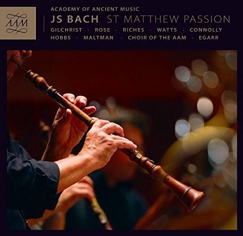 J.S. Bach / Aam/ Choir of the Aam/ Egarr - St. Matthew Passion