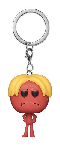 Funko Pocket Pop! Keychain: Rick & Morty - Kirkland Meeseeks
