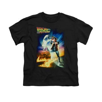 Back to the Future Poster Youth T-Shirt