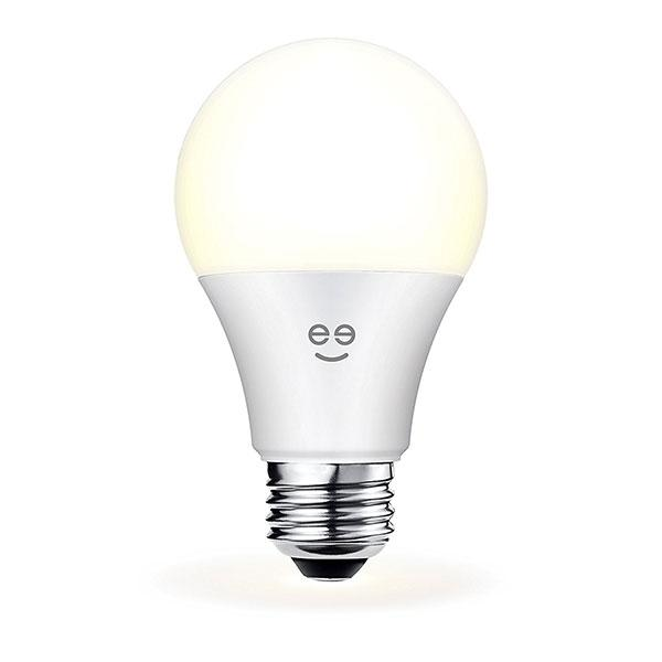 Geeni Lux 800 A19 Smart Wi-Fi LED Dimmable White Light Bulb