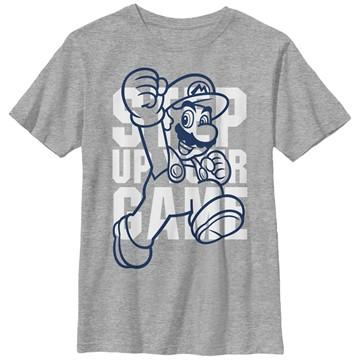 Mario Up Your Game Youth T-Shirt