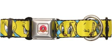 Looney Tunes Tweety Bird Expressions Pet Collar