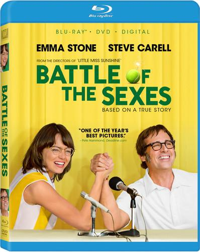 Battle of the Sexes [Includes Digital Copy] [Blu-ray/DVD]