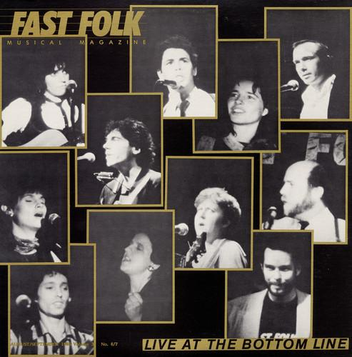 Various Artists - Fast Folk Musical Magazine (7) Live at 3 / Various