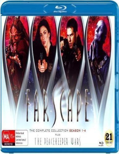 Farscape: The Complete Series [Blu-ray] [21 Discs]