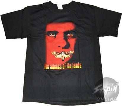 Silence of the Lambs Moth Mouth T-Shirt