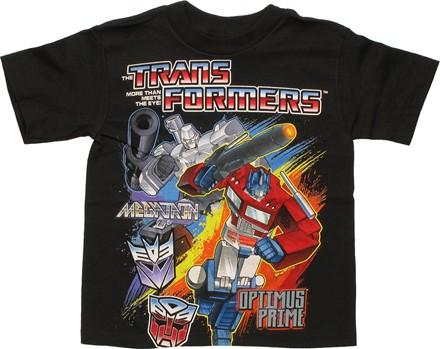 Transformers Megatron Optimus Prime Juvenile T Shirt, , small