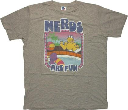 Nerds Are Fun T-Shirt Sheer