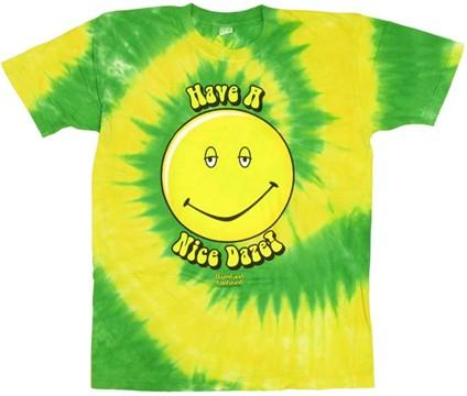 Dazed and Confused Tie Dye T-Shirt