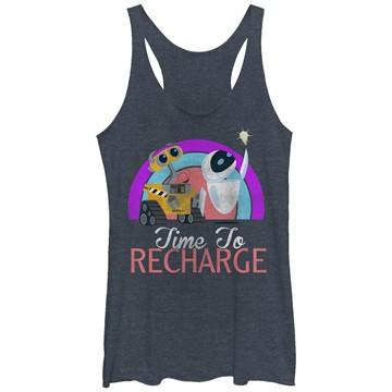 Wall E EVE Recharge Tank Top Juniors T-Shirt