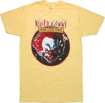 Killer Klowns from Outer Space Circle T-Shirt