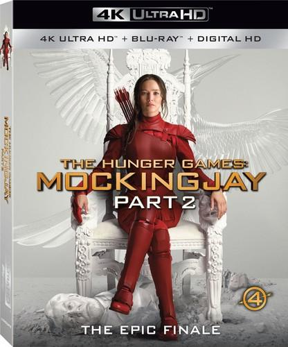 Hunger Games: Mockingjay, Part 2 [4K Ultra HD Blu-ray/Blu-ray] [Includes Digital Copy], , small