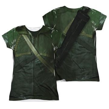 Green Arrow TV Uniform FB Sub Juniors T Shirt
