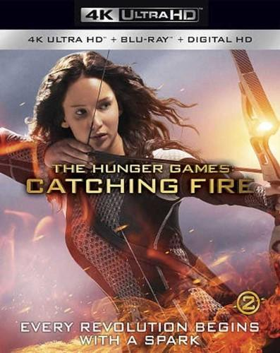 Hunger Games: Catching Fire [4K Ultra HD Blu-ray/Blu-ray] [Includes Digital Copy]