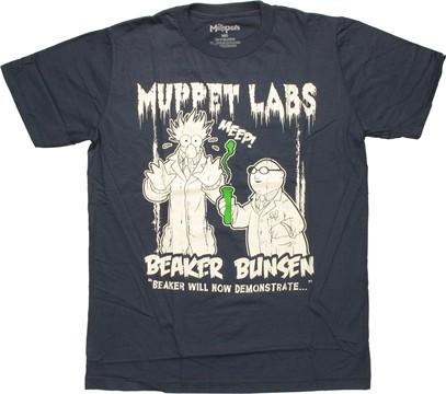 Muppets Labs Duo T Shirt Sheer
