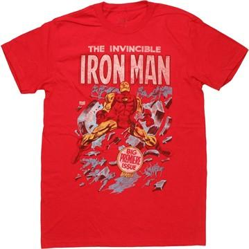 Iron Man First Cover T-Shirt Sheer