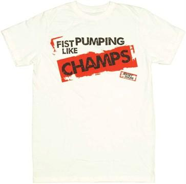 Jersey Shore Fist Pump T-Shirt Sheer