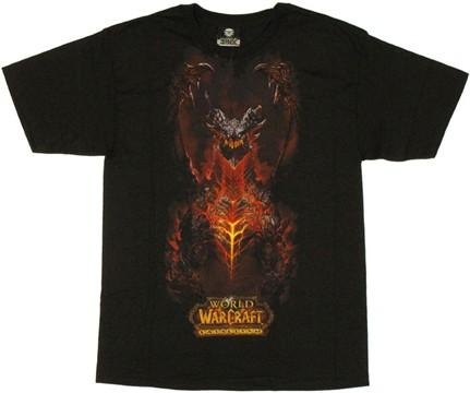 World of Warcraft Deathwing T Shirt
