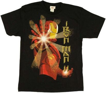 Iron Man 2 Shot Youth T-Shirt