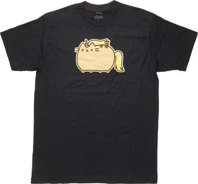Pusheen the Cat Unicorn Navy T-Shirt Sheer