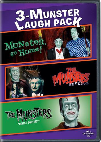 3-Munster Laugh Pack: Munster, Go Home! / The Munsters' Revenge / The Munsters: Family Portrait