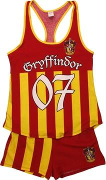 Harry Potter Gryffindor Tank Shorts Pajama Set