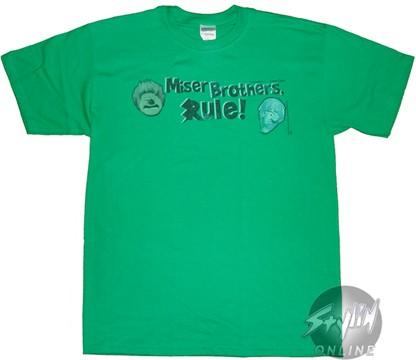 Year Without Santa Claus Misers Rule T-Shirt