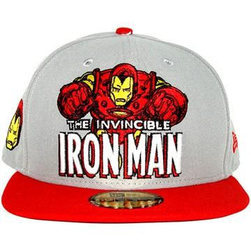 Iron Man Hero Logo 59FIFTY Hat