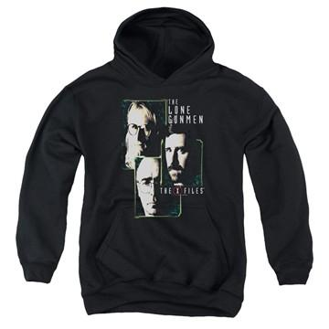 X Files Lone Gunmen Youth Hoodie