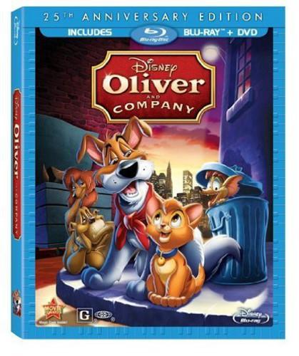 Oliver and Company [25th Anniversary Edition] [2 Discs] [Blu-ray]