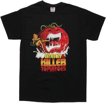 Attack of the Killer Tomatoes Poster T Shirt