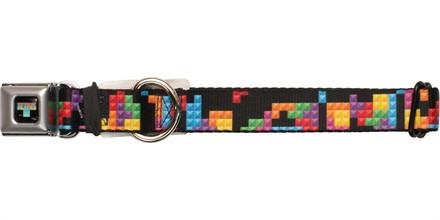 Tetris Blocks Pet Collar