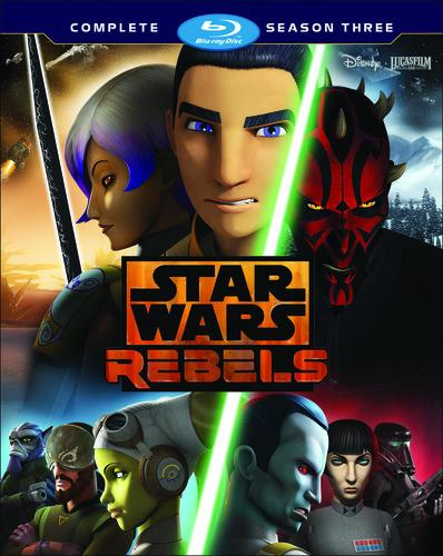 Star Wars Rebels: The Complete Season 3 [Blu-ray]