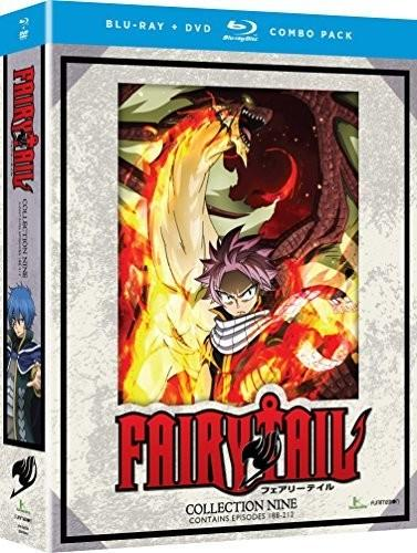 Fairy Tail: Collection Nine [Blu-ray/DVD] [8 Discs]