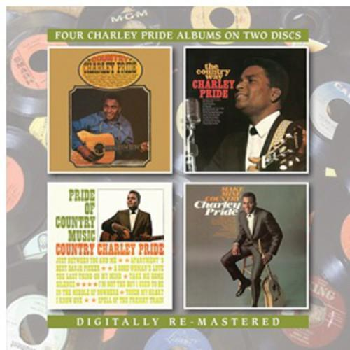 Charley Pride - Country Charley Pride/The Country Way/Pride of Country Music/Make Mine Country