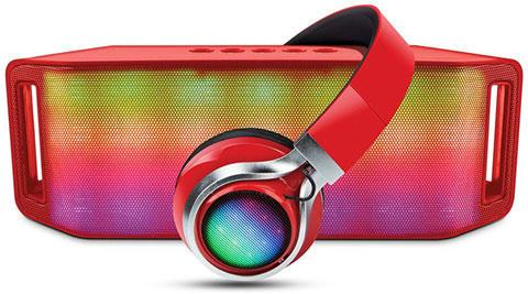 HyperGear Rave Bluetooth Speaker & Headphones